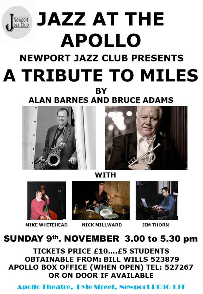 Alan  Barnes NJClub Poster 9_11_14  Miles