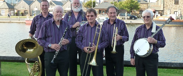 Roger Marks Cornish Armada Jazz Band